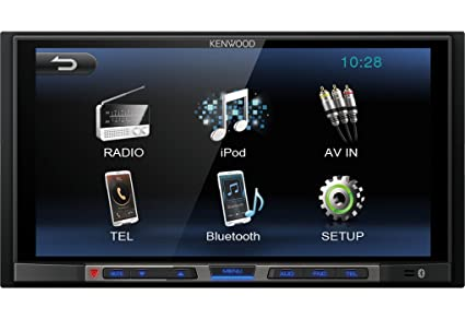 Kenwood DMX100BT - Receptor multimedia con Bluetooth incorporado, color negro
