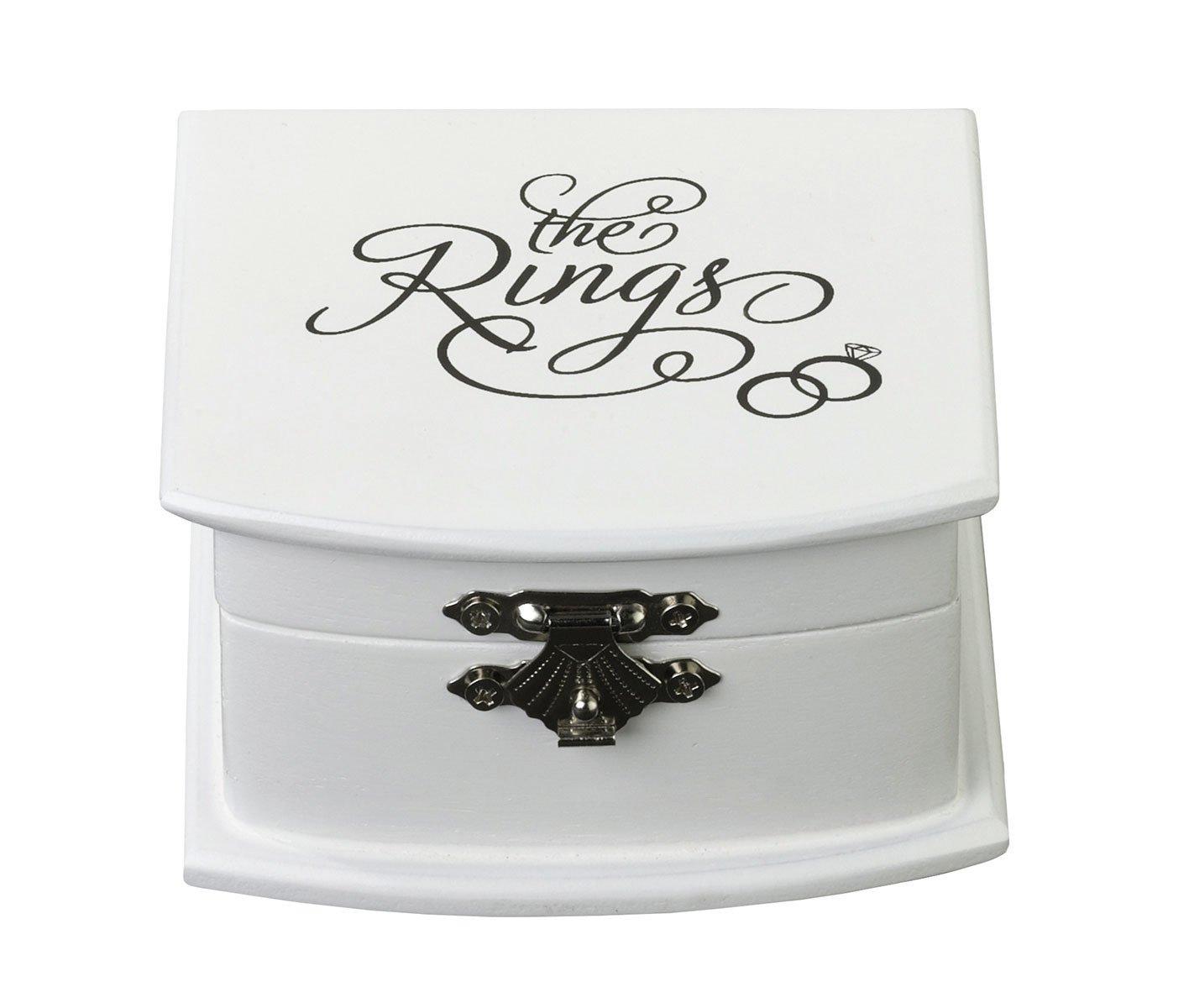 Scatola anello Lillian Rose colore bianco