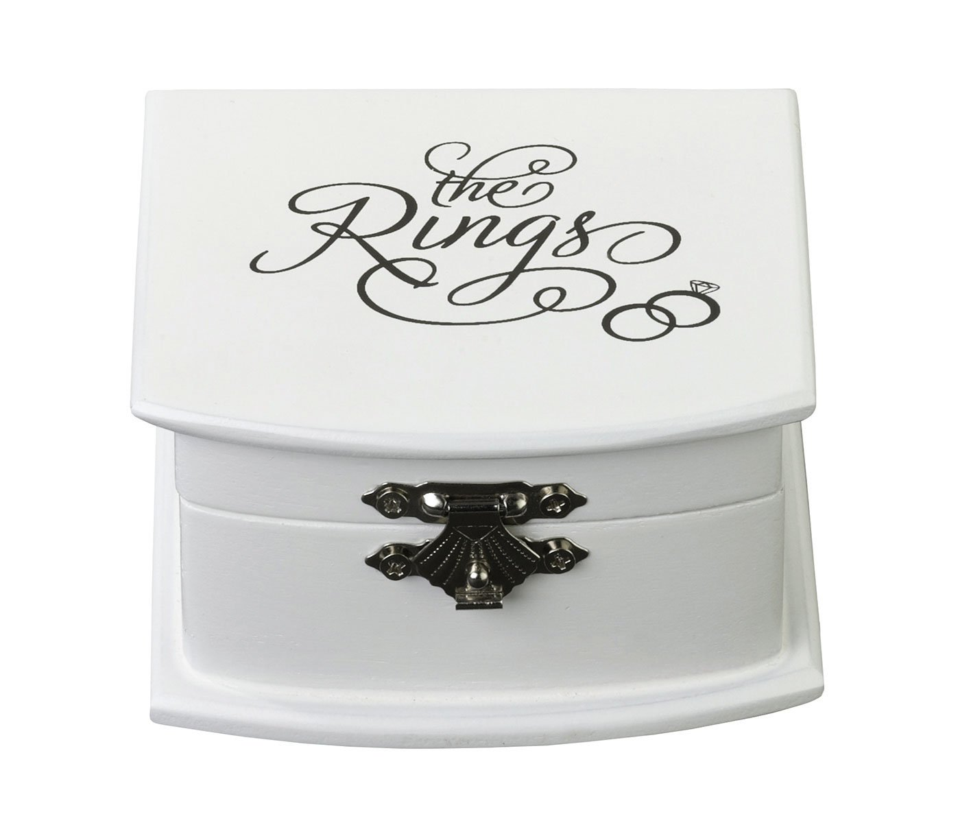 Lillian Rose Rustic Wood Wedding Ring Bearer Alternative Box by Lillian Rose