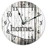 ARIZONA STATE HOME CLOCK Black and White Rustic Clock - Large 10.5'' Wall Clock