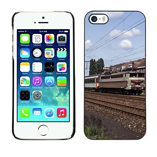 Hülle Case Schutzhülle Cover Premium Case // F00002294 Zug // Apple iPhone 5 5S 5G
