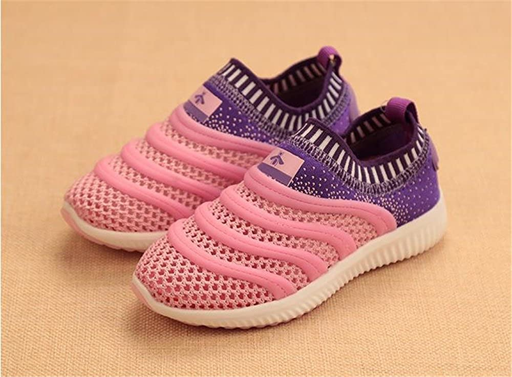 YUBUKE Kids Tennis Shoes Casual Lightweight Breathable Running Shoes Sneakers