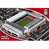 Liverpool F.C. (football club) This is Anfield Soccer Sports Poster Print 24 by 36