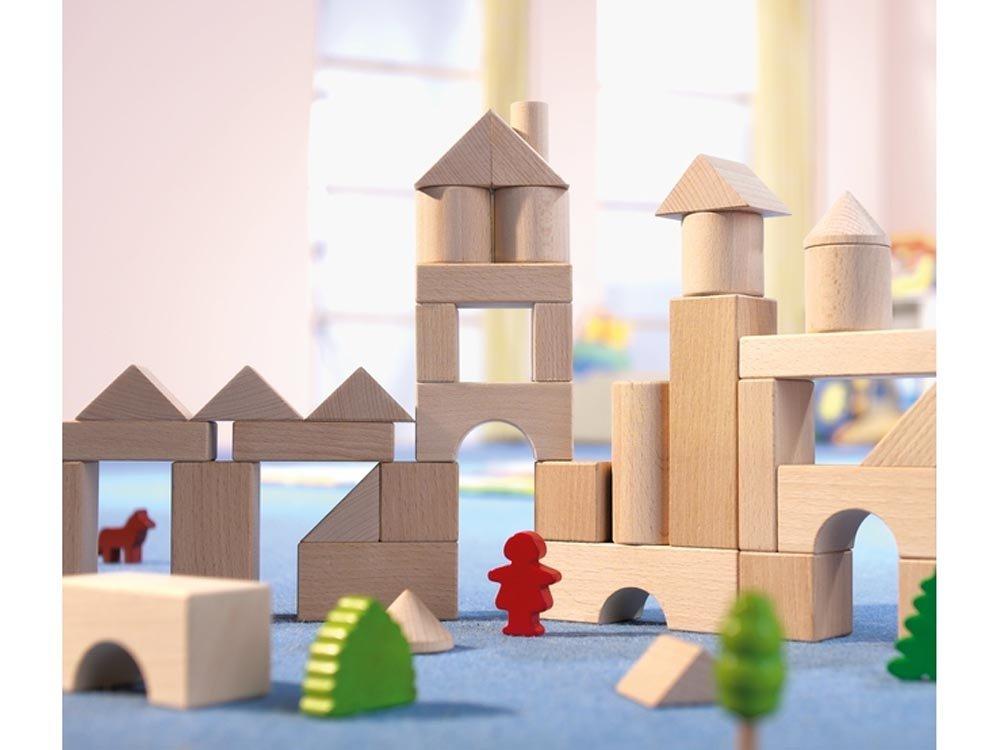 HABA Basic Building Blocks 26 Piece Starter Set Made in Germany 1071