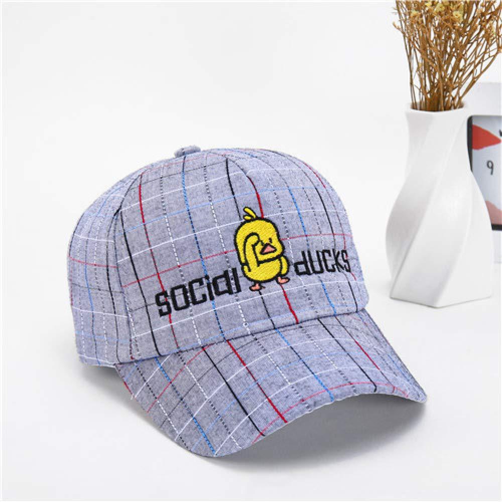 zhuzhuwen Gorra de béisbol de Pato Amarillo Little Plaid Sombrero ...