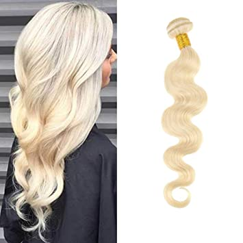 Hair Extensions Clip-in Full Head Good Moresoo Body Wave Bleach Blonde#613 Clip In Human Hair Extension Clip Ins Human Hair Brazilian Hair Clip In Extension Full Head Less Expensive
