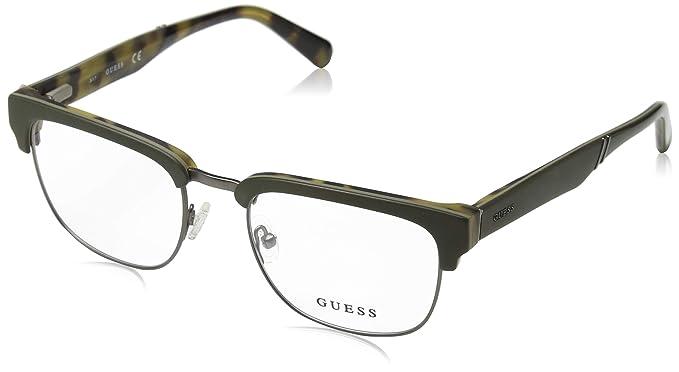 Guess GU1942 Monturas de gafas, Verde Scuro Op, 51.0 Unisex ...