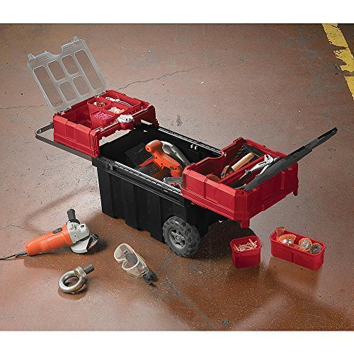 Craftsman 18 Gallon Mobile Tool Chest with Parts Storage by Craftsman
