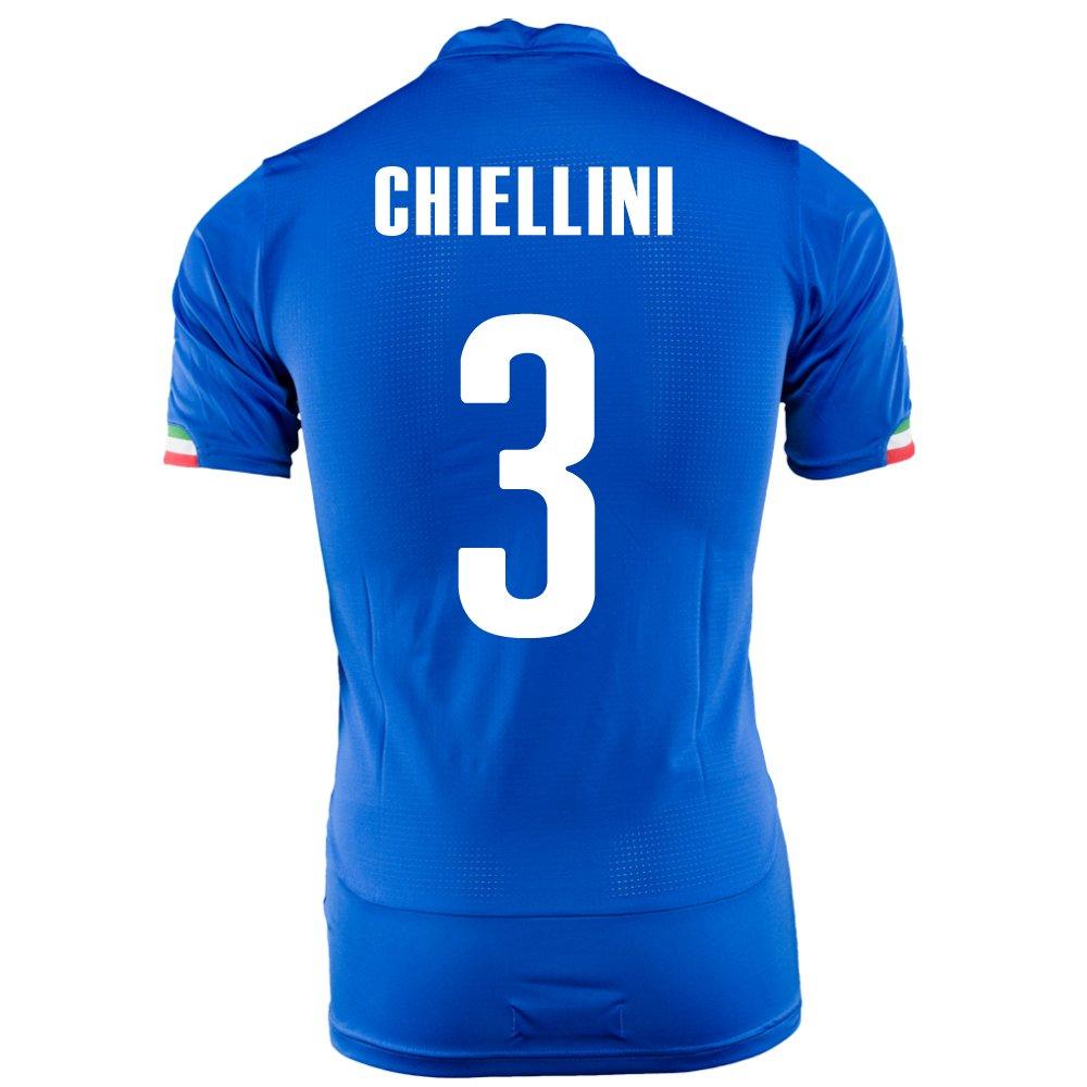 Puma Chiellini # 3 Italy Home Jersey World Cup 2014 (Youth) B019752772 M, パーツビレッジハーテン 3b896c08