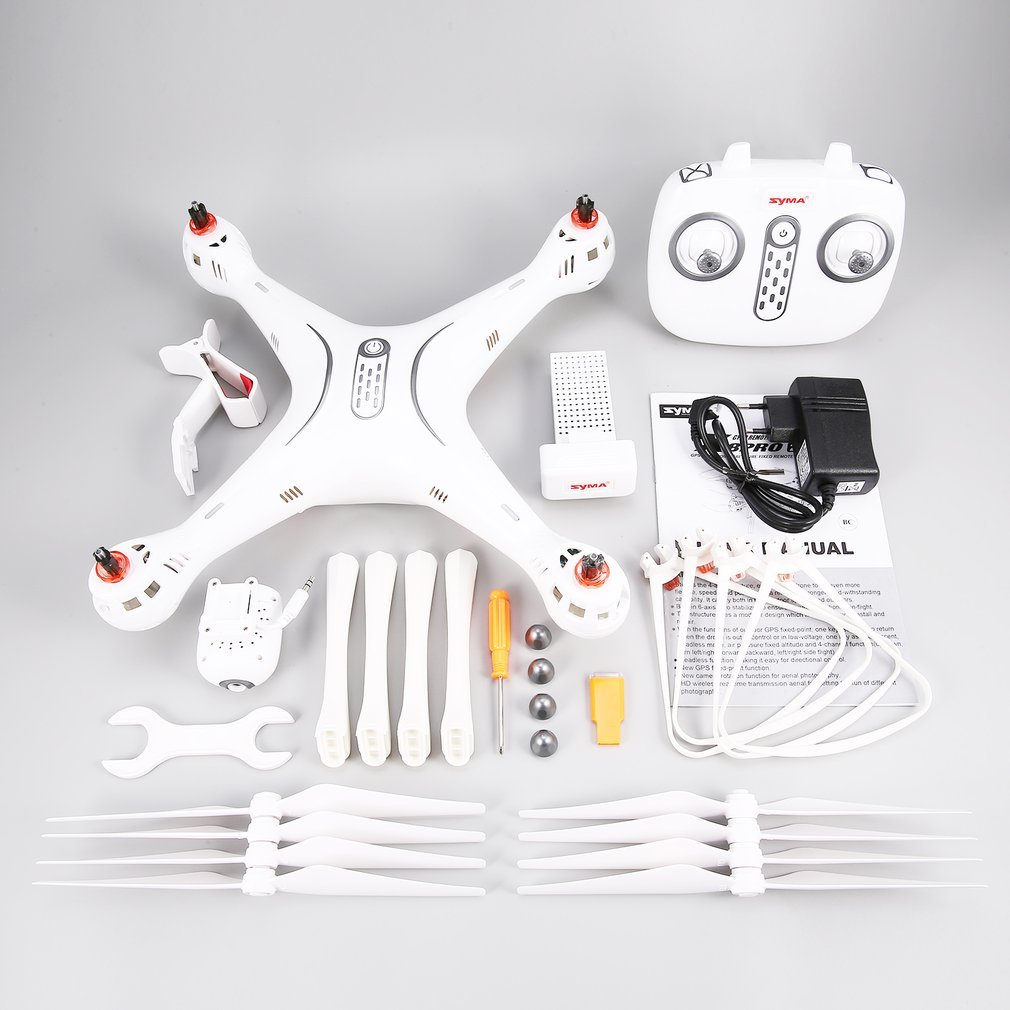 FDBF Syma X8PRO 720P WiFi Camera FPV Realtime GPS Positioning RC Drone Quadcopter