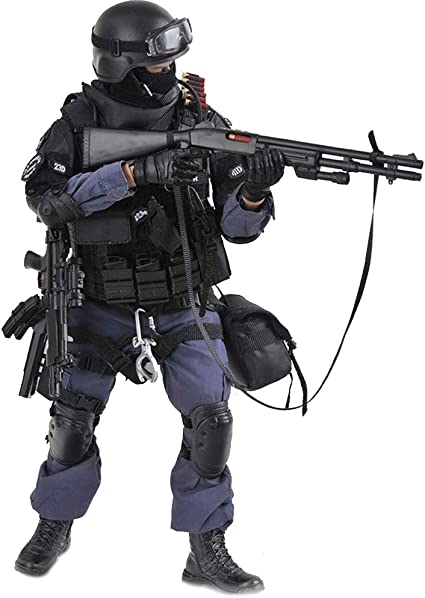 Guerre civile CS privé 2-fusil FUSIL et BAÏONNETTE-échelle 1//6 truie Action Figures