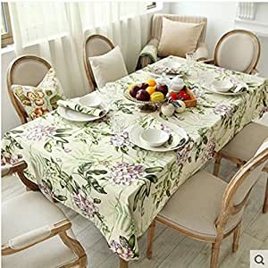 JY$ZB Corea fresca mantel de lino / tela de mesa de café / polivalente cubierta de tela para la cena de hotel restaurante familiar , 140*280cm