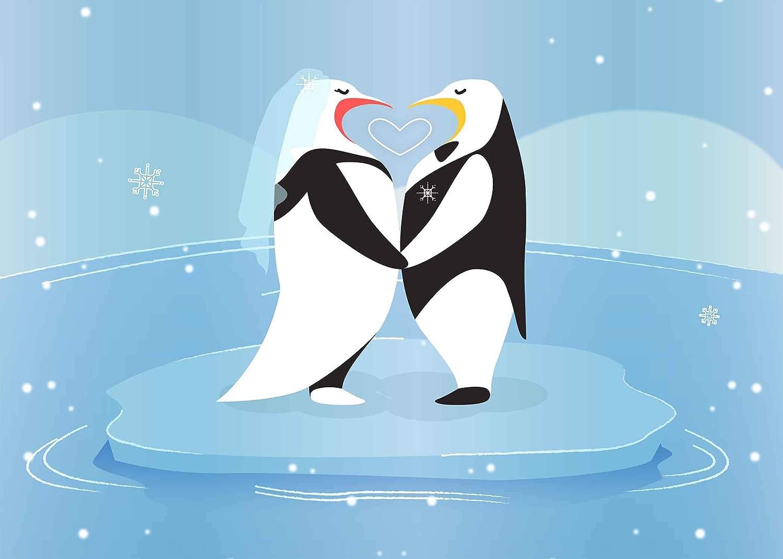 Amazoncom Gesen Cartoon Background 7x5ft Penguin