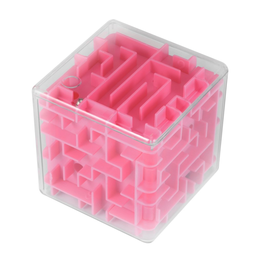 Guguogo 3D Maze Rolling Ball Rotating Magic Square Puzzle Game Children Adult Toys gugutogo