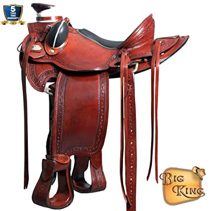 Amazon com : 16'' HILASON Big King Western Wade Ranch Cowboy