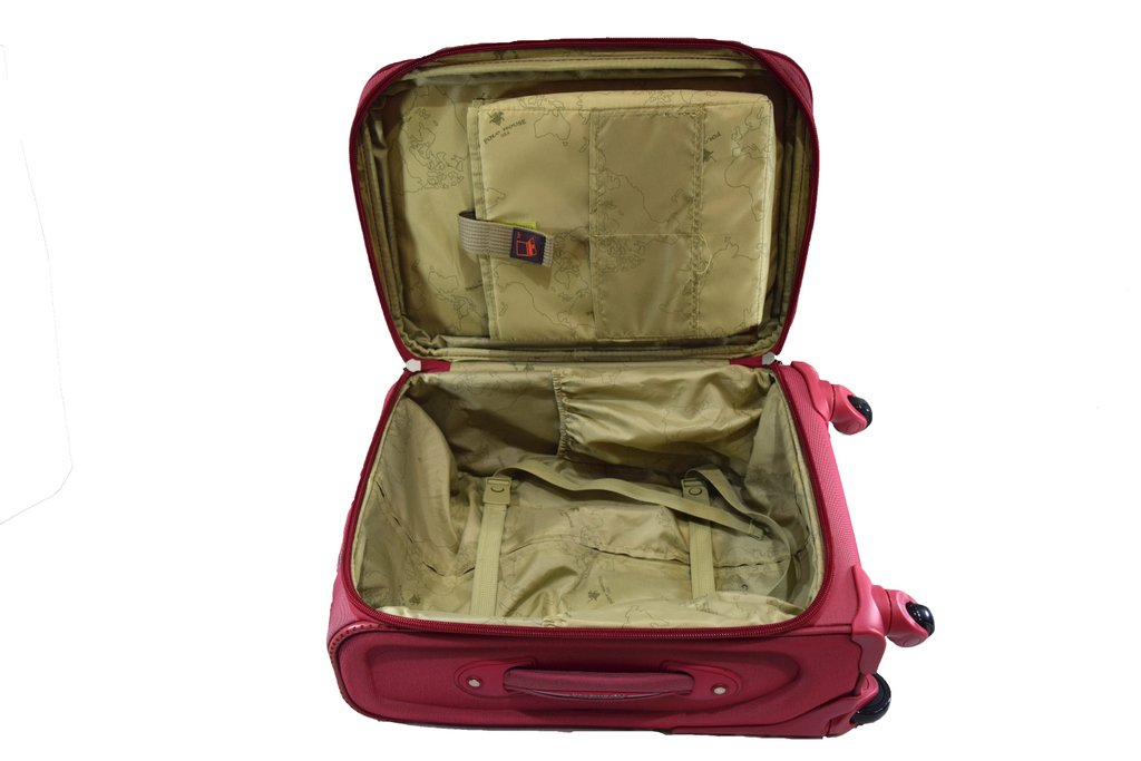 0fa55fe414a Polo House USA Polyester Maroon Soft Sided Suitcase & Trolley Bag:  Amazon.in: Bags, Wallets & Luggage