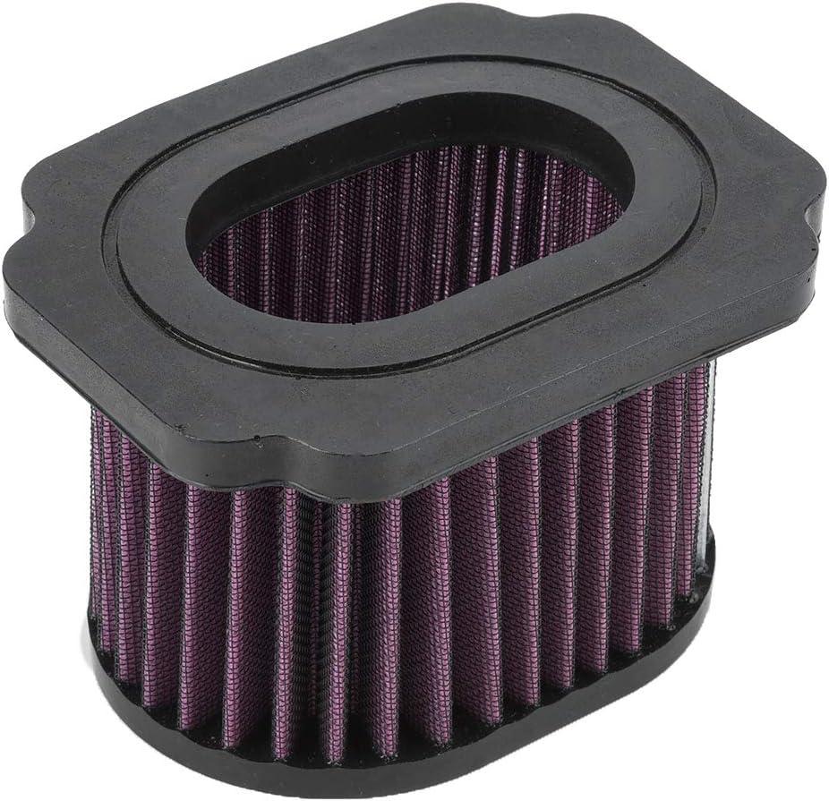 Filtro de aire, filtro de purificador de aire del motor Limpiador para MT-07 FZ-07 XSR700 689 2016
