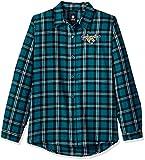 Jacksonville Jaguars 2016 Wordmark Basic Flannel Shirt - Womens Extra Large