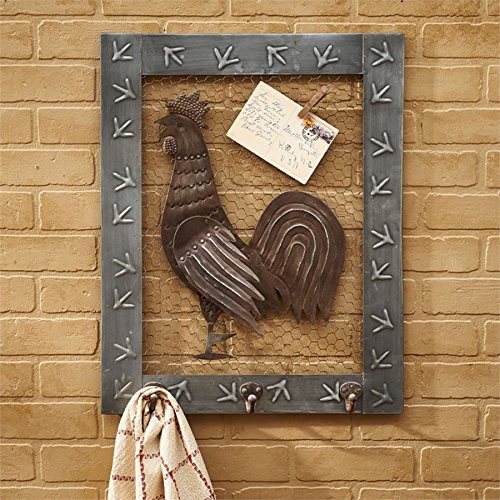 Park Designs Chicken Wire Rooster Wall Art or Message -