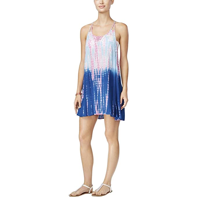 5065ac7fbd Image Unavailable. Image not available for. Colour  Raviya Womens Tie-Dye Ombre  Dress Swim Cover-Up