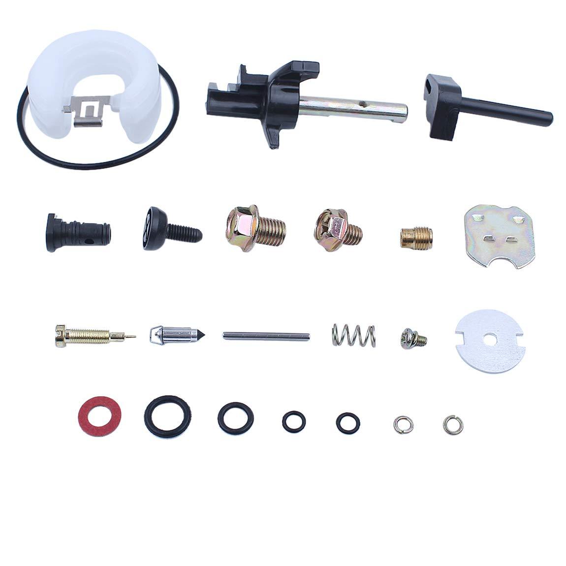 Haishine Carburatore Carb Repair Kit di ricostruzione Fit Honda GX200 GX160 GX120 5.5HP 6.5HP 168F 170F Motore Generatore del Motore Trimmer
