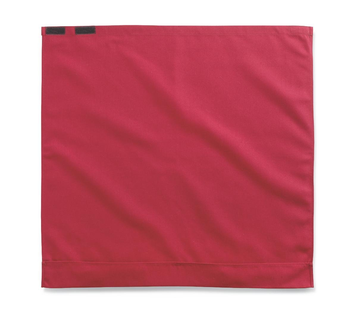 Medline MDT014117BURG Classic Style Dignity Napkin with Hook-and-Loop Closure, 27.5'' x 27'', Burgundy (Pack of 24)