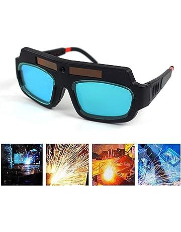 852d87a45f6789 Lunettes de soudure solaires auto-obscurcissantes - Lunettes de protection  de sécurité - Masque de