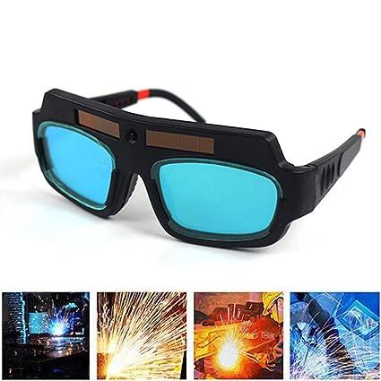Gafas de soldar, solar, autooscurecimiento y soldar, protección de ojos, regulador automático