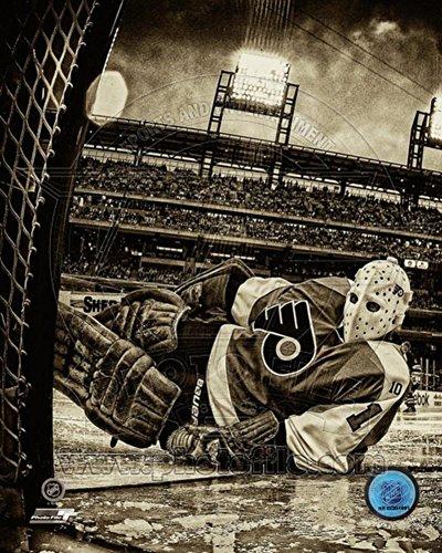 Bernie Parent 2012 Winter Classic Alumni Game Photo 8 x 10in