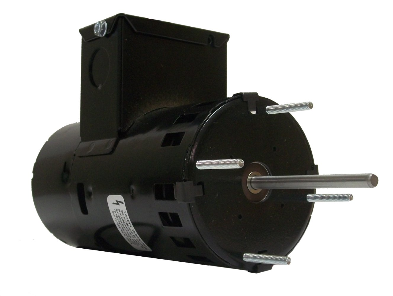 CW Rotation Fasco D1174 3.3-Inch Diameter Shaded Pole Motor Ball Bearing 0.6 Amps 1 Speed 460 Volts 1//15 HP 3000 RPM