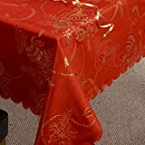 Linens Limited Angelica Christmas Napkins, 4 Pack, Red