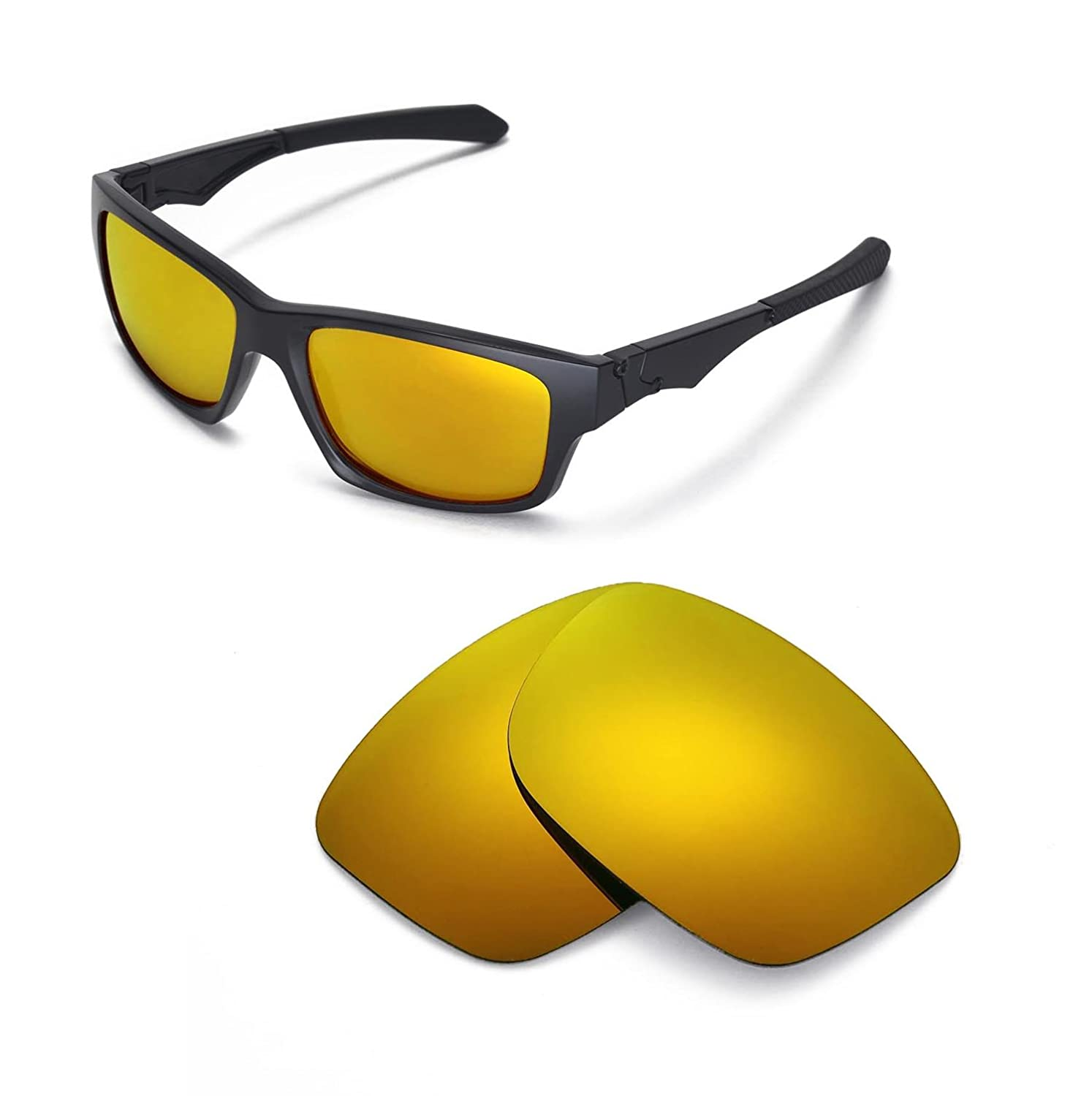 fd39f3209f875c Amazon.com   Walleva Replacement Lenses for Oakley Jupiter Squared  Sunglasses - Multiple Options Available (24K - Polarized)   Sports    Outdoors