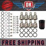 #9: Ford 6.0L Powerstroke Oil Rail Leak Repair Kit,Tool,O-rings,+ Injector Seal Kits