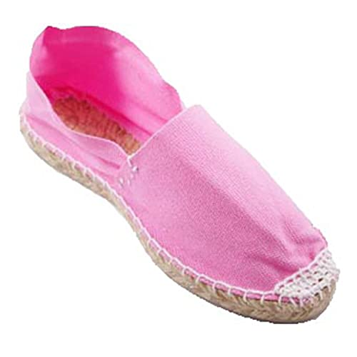 Alpargatas de Esparto Plana Made in Spain en Rosa: Amazon.es: Zapatos y complementos