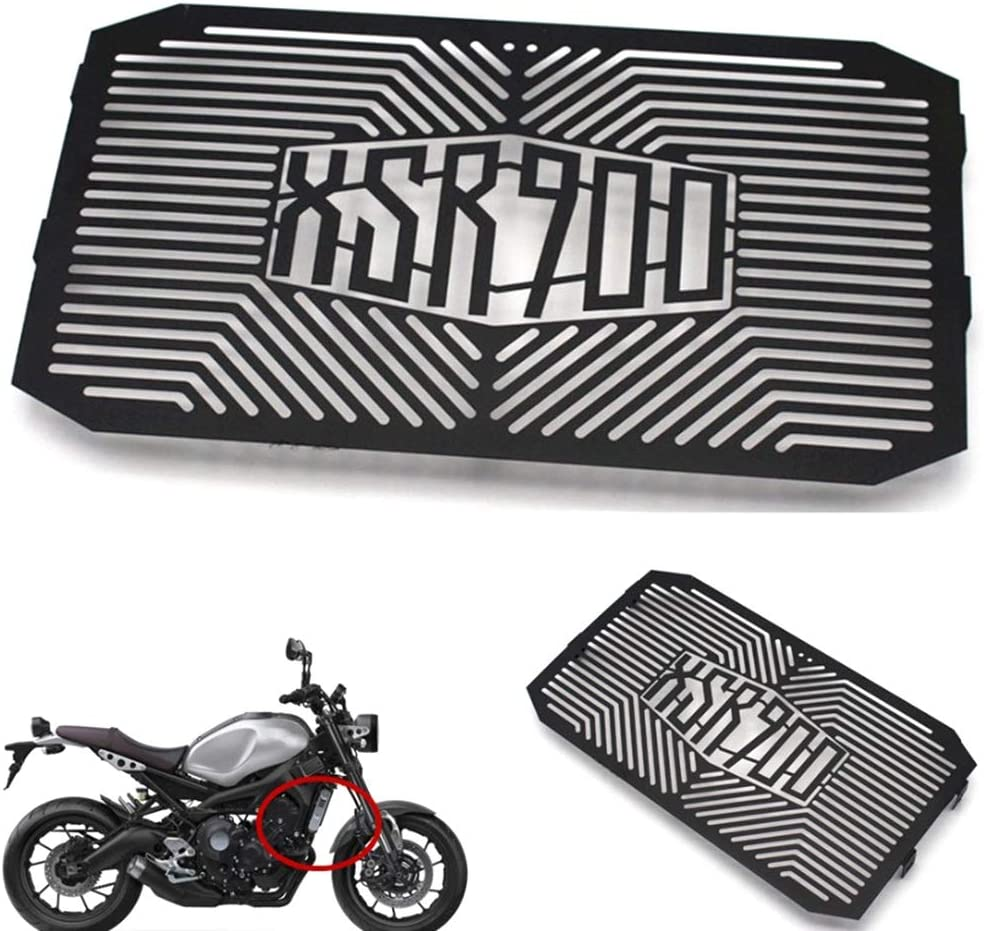 Black Vaorwne for Xsr900 Xsr 900 2016 2017 Motorcycle Stainless Steel Radiator Grille Guard Net Cover