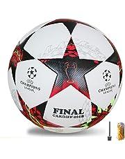 2018NEUF Taille 5balles d'entraînement de foot officielle PU Ballon de foot