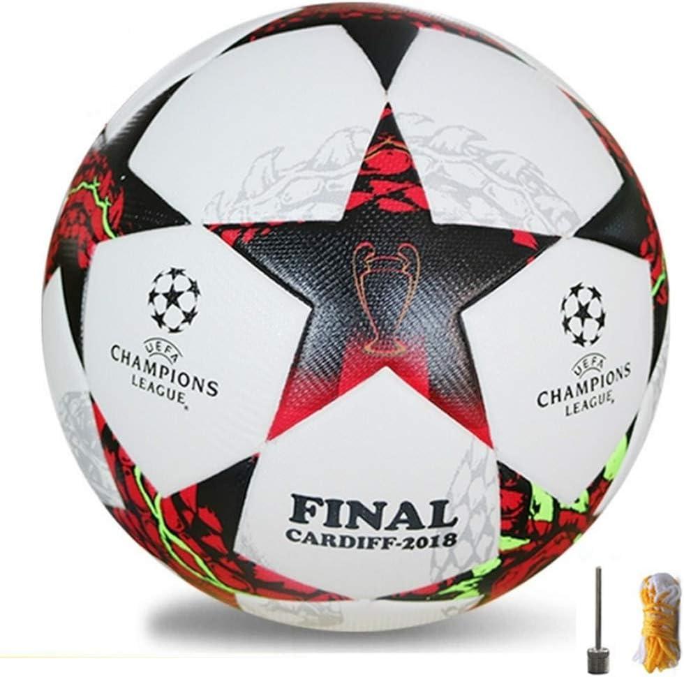 UESO 2018 Nuevo tamaño 5 formación Bolas fútbol Oficial PU balón ...