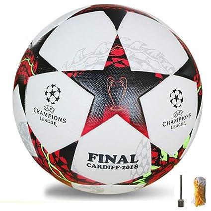 704988a79782d 2018 nuevo tamaño 5 formación bolas fútbol oficial PU balón de fútbol