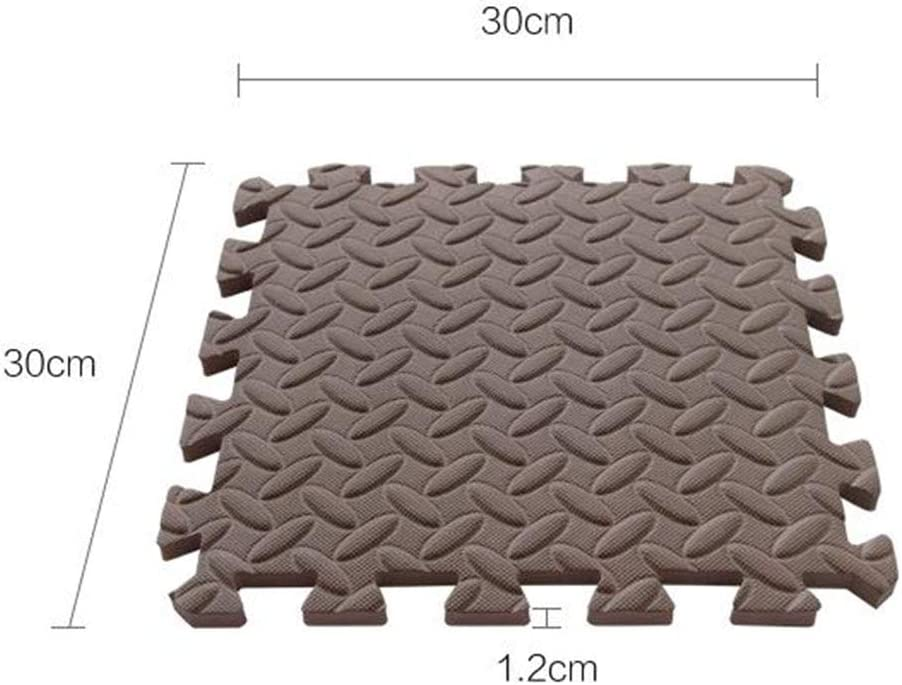 menolana Set of 9 Baby EVA Foam Play Mat Interlocking Floor Tiles Playmat for Home