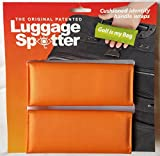 Luggage Spotter BUY ONE GET ONE FREE (ORANGE) Luggage Locator/Handle Grip/Luggage Grip/Travel Bag Tag/Luggage Handle Wrap (4-PK) – GREAT GIFT!