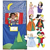 Royal Family Hand Puppets and Doorway Puppet Theater Special
