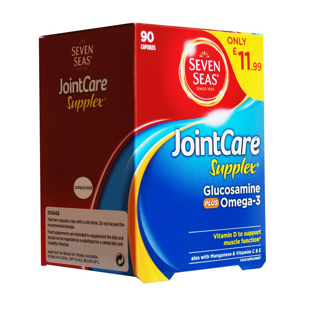 Fish Oil Omega 3 Capsules Best Triple Strength Supplements With Healthy Care 369 200 Caps Jointcare Supplex Gluco 90 By Seven Seas