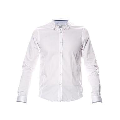 CHEMISE HOMME Manches Longues JOE RETRO SELYA Blanc Couleur Blanc Taille L b29bfeb6d1f7