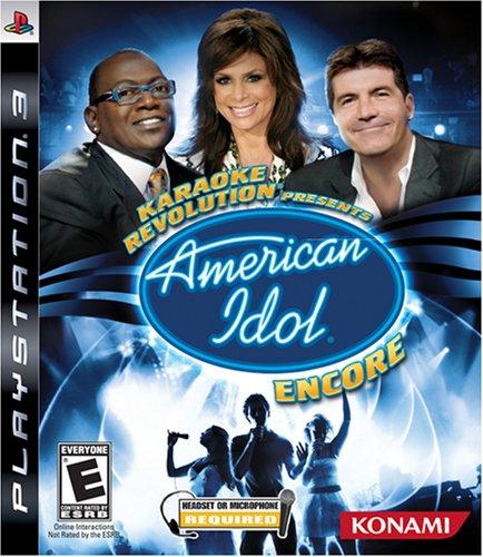 - Karaoke Revolution Presents: American Idol Encore BUNDLE - Playstation 3