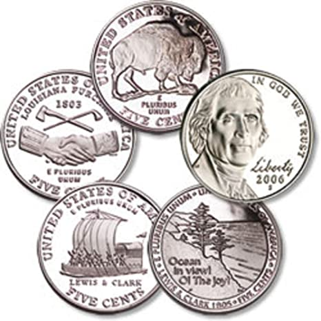 2 US Mint Westward Journey Nickel Series w// COA 12 coins 2004