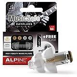 Alpine MusicSafe Music Ear Plugs – Musicians Ear Plugs for Noise Reduction – Concert Earplugs - 2 Noise Reducing High…