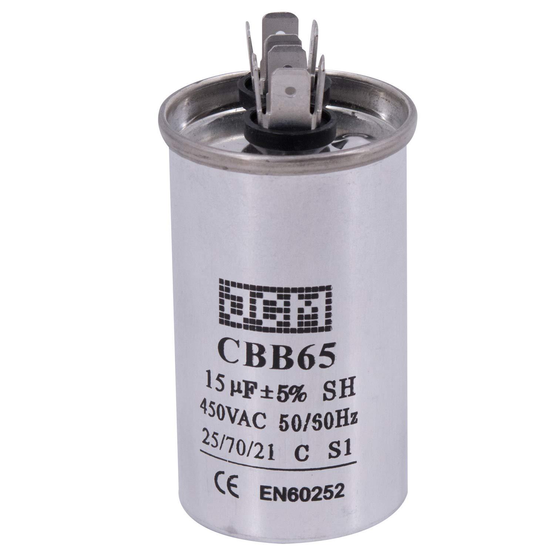 CBB65 15-50uF AC 450V 50//60HZ Start Motor Capacitor Air Conditioner   -