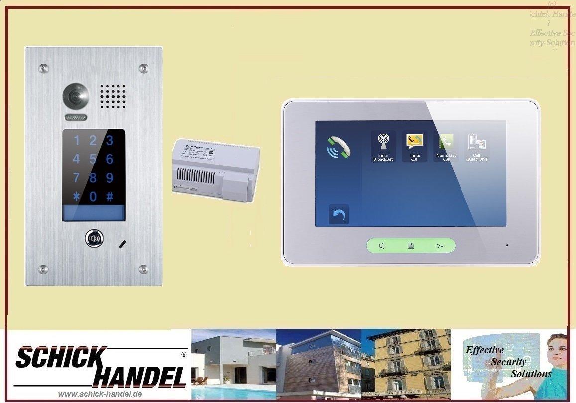 DT601F/KP Unterputz +T37MW Video/Bildspeicher Video-Sprechanlage ...