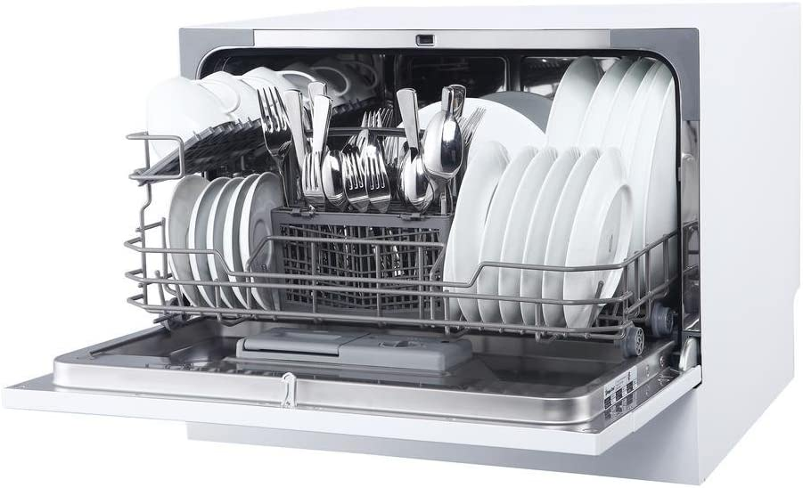Magic Chef MCSCD6W5 Countertop Dishwasher Review