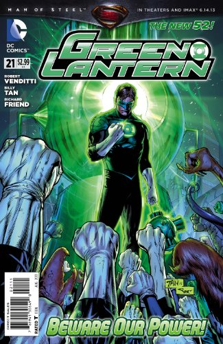 Green Lantern #21 (New 52)
